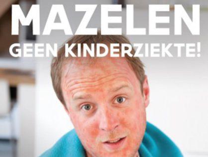 Mazelen in opmars: laat je vaccineren!